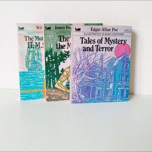 vintage 1970s story book pocket paperbacks